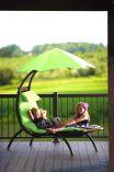 Zahradní pohovka Vivere Original Dream Lounger - Green Apple, 178x76cm, nos.:120kg, ocelová konstrukce, 21kg (421212)