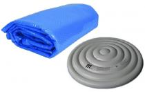 Krycí plachty a termokryty pro bazény a vířivky