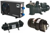 Filtrační, Tepelná čerpadla, Výměníky, Vzduchovače