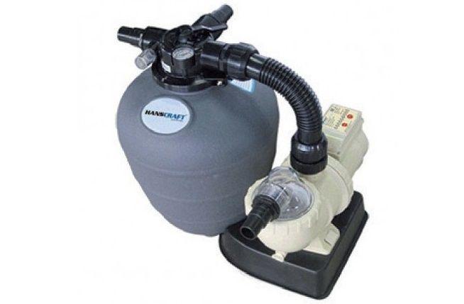 Kompletní písková filtrace do bazénů HANSCRAFT EASY MASTER 330 ECO - ZEOCRAFT 0.-0.8mm, max 28psi/2bar, max 40°C, 8.6kg (304041)