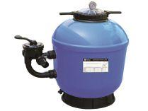 Písková filtrace do bazénů HANSCRAFT GEL-PRO 750 - 22.1m3/h, boční filtrační nádoba, 40kg