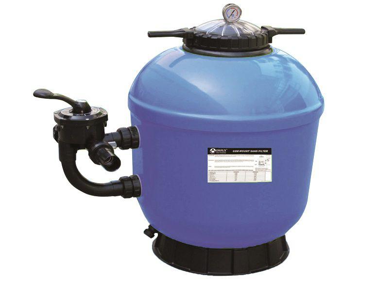 Písková filtrace do bazénů HANSCRAFT GEL-PRO 500 - 10m3/h, boční filtrační nádoba, písek 100kg, 0.2m2, 19kg (304060)