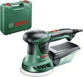 Excentrická bruska Bosch PEX 300 AE Compact - 270W, 125mm, 1.5kg, kufr