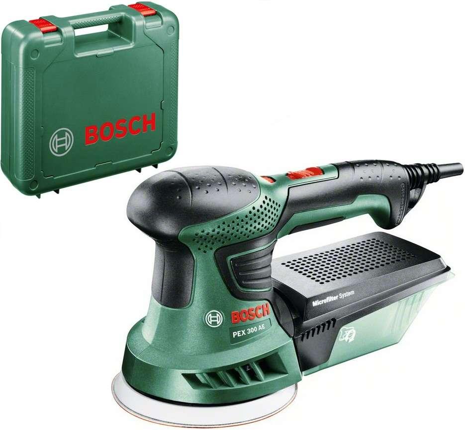 Bosch PEX 300 AE Compact zelená excentrická bruska Bosch HOBBY