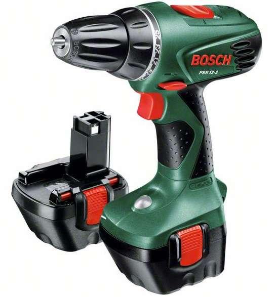 Bosch PSR 12-2 (2x aku) aku vrtačka