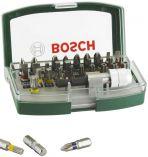 32-dílná sada šroubovacích bitů Bosch Promoline s barevným odlišením Bosch příslušenství
