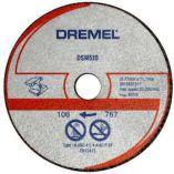 DREMEL® DSM510 pro DSM20 - řezný kotouč na kov a plast - 3ks
