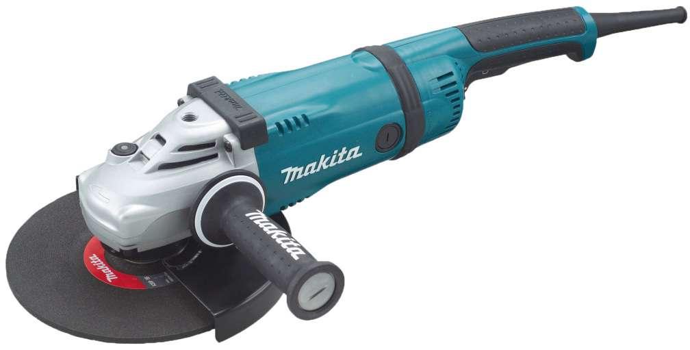 Makita GA9030X01 Úhlová bruska 230mm se superpřírubou a AVT rukojetí