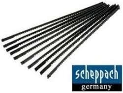 Univerzální pilový list Scheppach na dřevo a kov - pro všeobecné použití, 6ks, 10zubů (do lupínkové pily Scheppach DECO FLEX, SD 1600 f, SD 100 V, Woodster SD 16)
