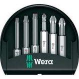 6-dílná sada prodloužených BITů Wera
