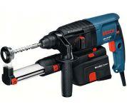 Vrtací kladivo SDS-Plus s odsáváním Bosch GBH 2-23 REA Professional - 710W, 2.3 J, 3.6kg, kód 0611250500