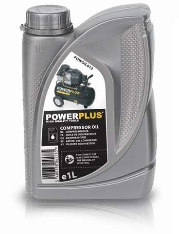 Kompresorový olej PowerPlus POWOIL012, 1L PowerPlus (VARO)
