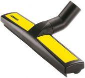 Plošná podlahová hubice mokro-suchá Kärcher DN35, 360mm, s postranními výškově nastavit. kolečky