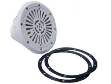 """Bazénová podlahová výpusť 2"""" HANSCRAFT, průměr 170mm, bílý ABS plast, 0.6kg (308259)"""