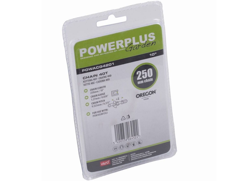 "PowerPlus POWACG4201 Pilový řetěz - 250mm, 1.27mm, 0.375"", 40 článků PowerPlus (VARO)"
