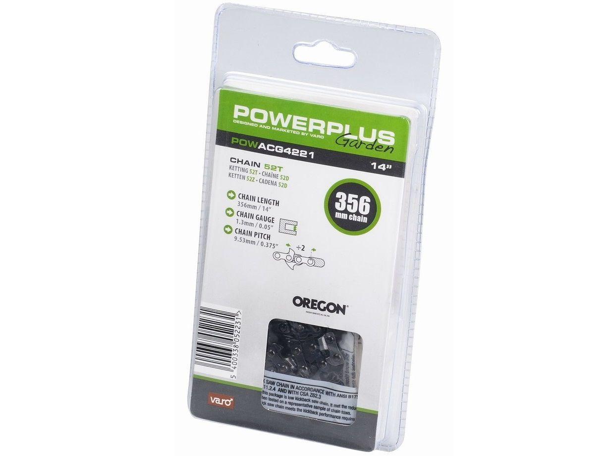 "PowerPlus POWACG4221 Pilový řetěz - 356mm, 1.3mm, 0.375"", 52 článků PowerPlus (VARO)"