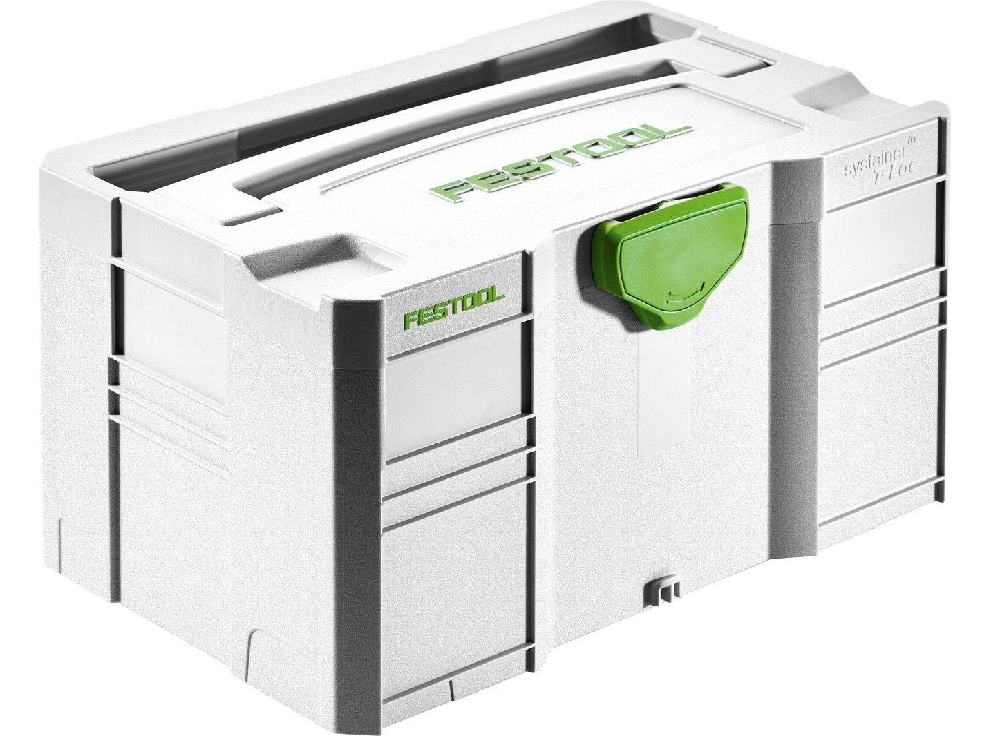 Festool MINI-SYSTAINER T-LOC SYS-MINI 3 TL Mini kufr Systainer pro přehledné uspořádání drobných dílů a ručního nářadí (202544)