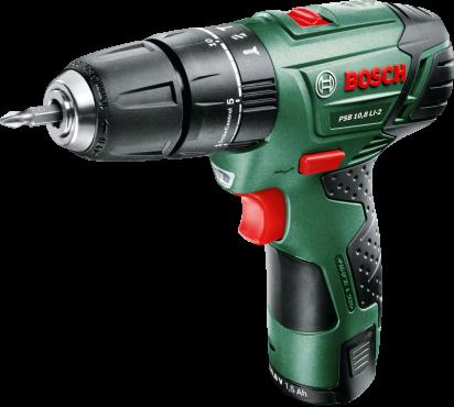 Bosch PSB 10,8 LI-2 aku vrtačka holé nářadí, aku vrtačka s příklepem Bosch HOBBY