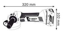 Bosch GWS 18-125 V-LI Professional aku úhlová bruska 18V bez aku (060193A307) Bosch PROFI