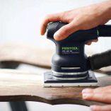 Festool RUTSCHER RTS 400 EQ-Plus vibrační bruska