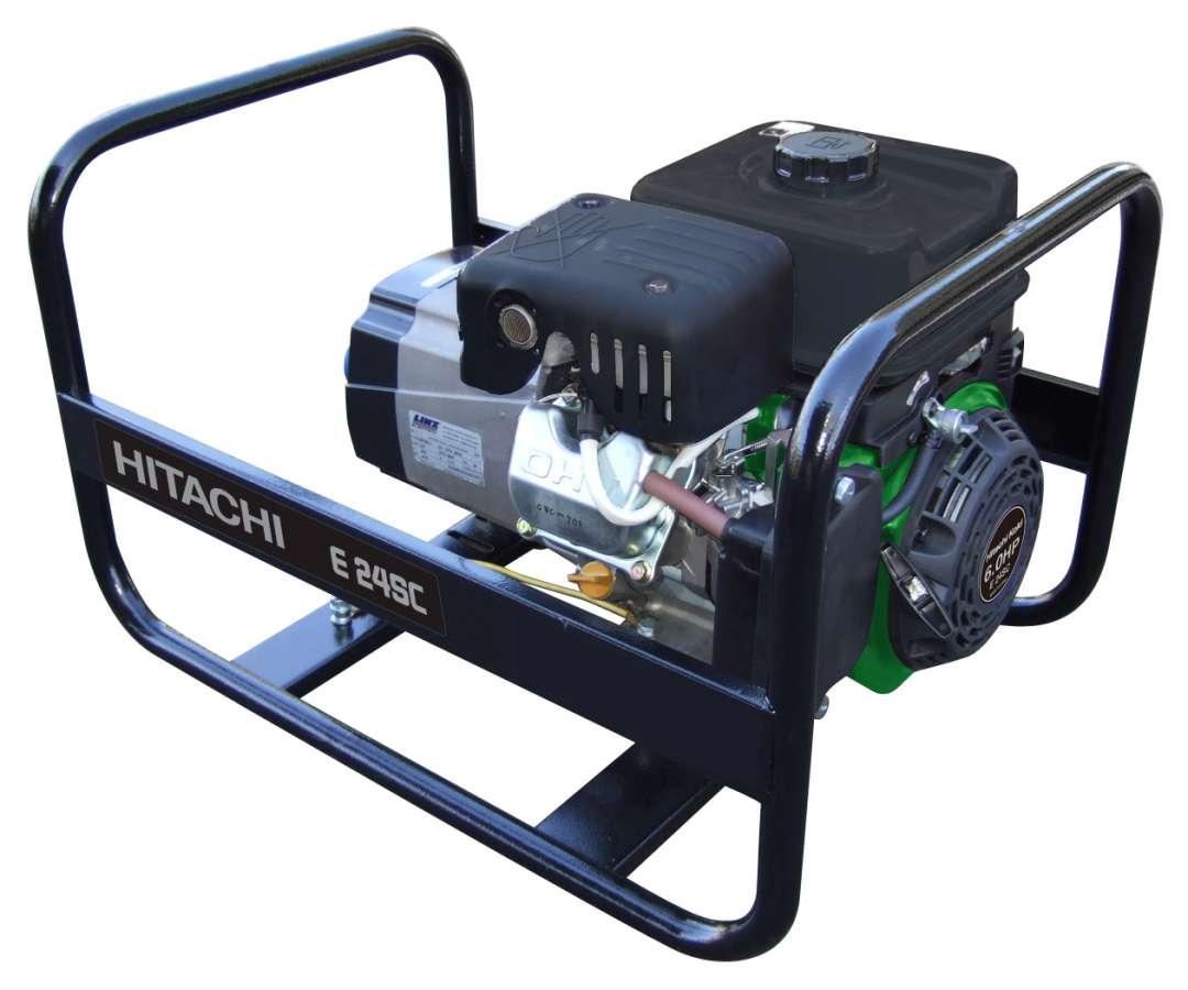 Hitachi E24SC benzínová elektrocentrála