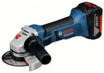 Zobrazit detail - Bosch GWS 18-125 V-LI Professional - 125mm, 18V/4Ah, 2.3kg, L-Boxx, aku úhlová bruska