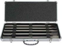 Makita D-40618 Sada sekáčů a špic SDS-MAX v hliníkovém kufru