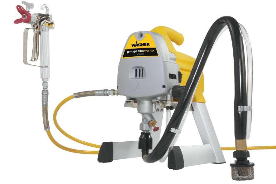 Stříkací stroj - Malířský stříkací systém Wagner Project PRO 117, kód: 0418030 J. Wagner GmbH