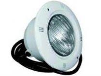 Bazénové světlo LED 252 - bílé - pro beton, 12V, 252 bílých LED diod, příruba, 2x těsnění, 2.3kg
