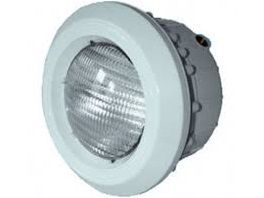 Bazénový U/W reflektor 300W pro fólii, s mosazným zástřikem, 12V PAR56, bílý ABS plast, 3m kabel, 2kg (309083) Hanscraft