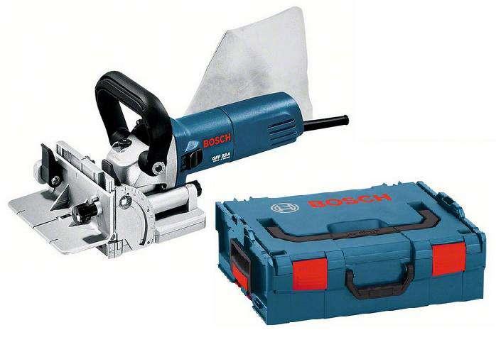 Bosch GFF 22 A Professional Drážkovací frézka 670W, 22mm, 2.9kg, L-Boxx (0601620070) Bosch PROFI