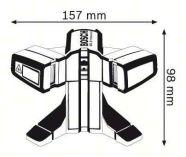 Bosch GTL 3 Professional laser na obklady 0601015200 Bosch PROFI