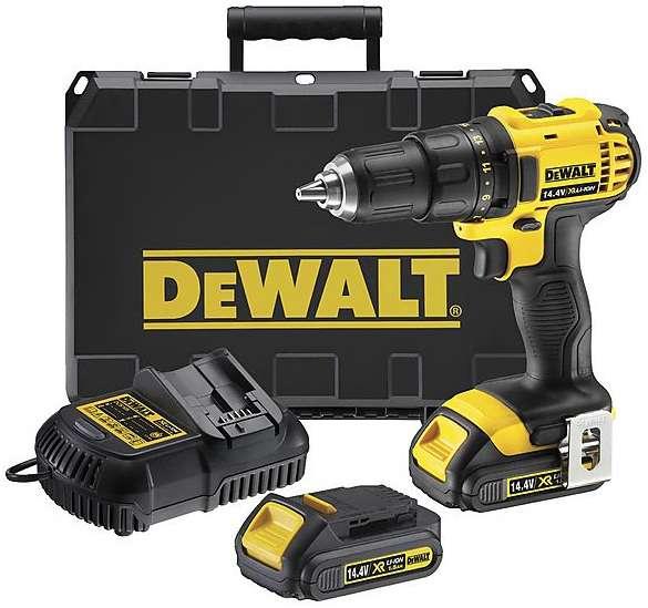DeWALT DCD730C2 Aku vrtačka XR Li-Ion 14,4 V / 1,5Ah