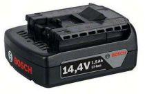 Zásuvný akumulátor Bosch GBA 14,4V/1,5Ah/Li-ion Professional