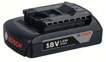 Zásuvný akumulátor Bosch GBA 18V/1,5Ah Li-ion Professional