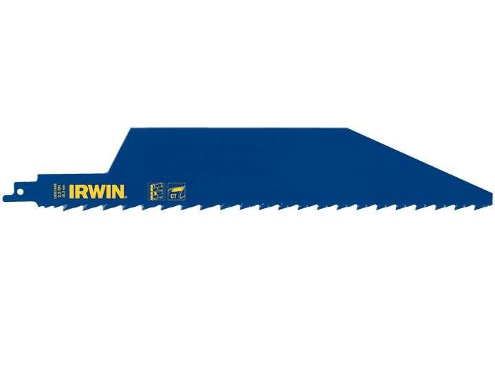 Pilový list do pily ocasky IRWIN 450x50mm 2,5TPI, na stavební materiál, tvárnice, sádrokarton