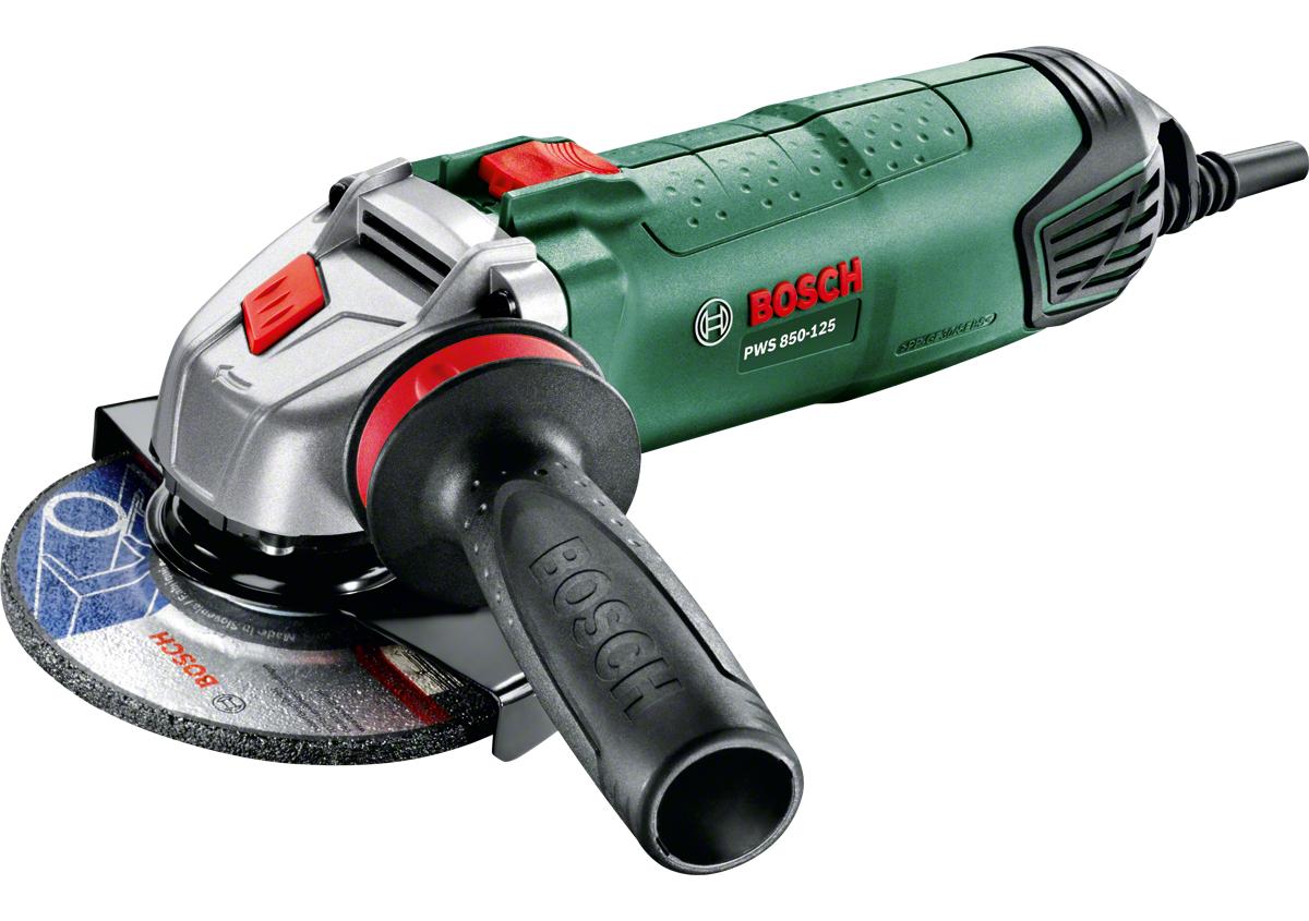 Bosch PWS 850-125, úhlová bruska Bosch HOBBY