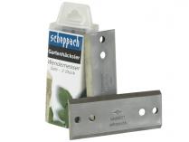 2ks nožů pro drtič větví - kompostovač Scheppach Biostar 3000