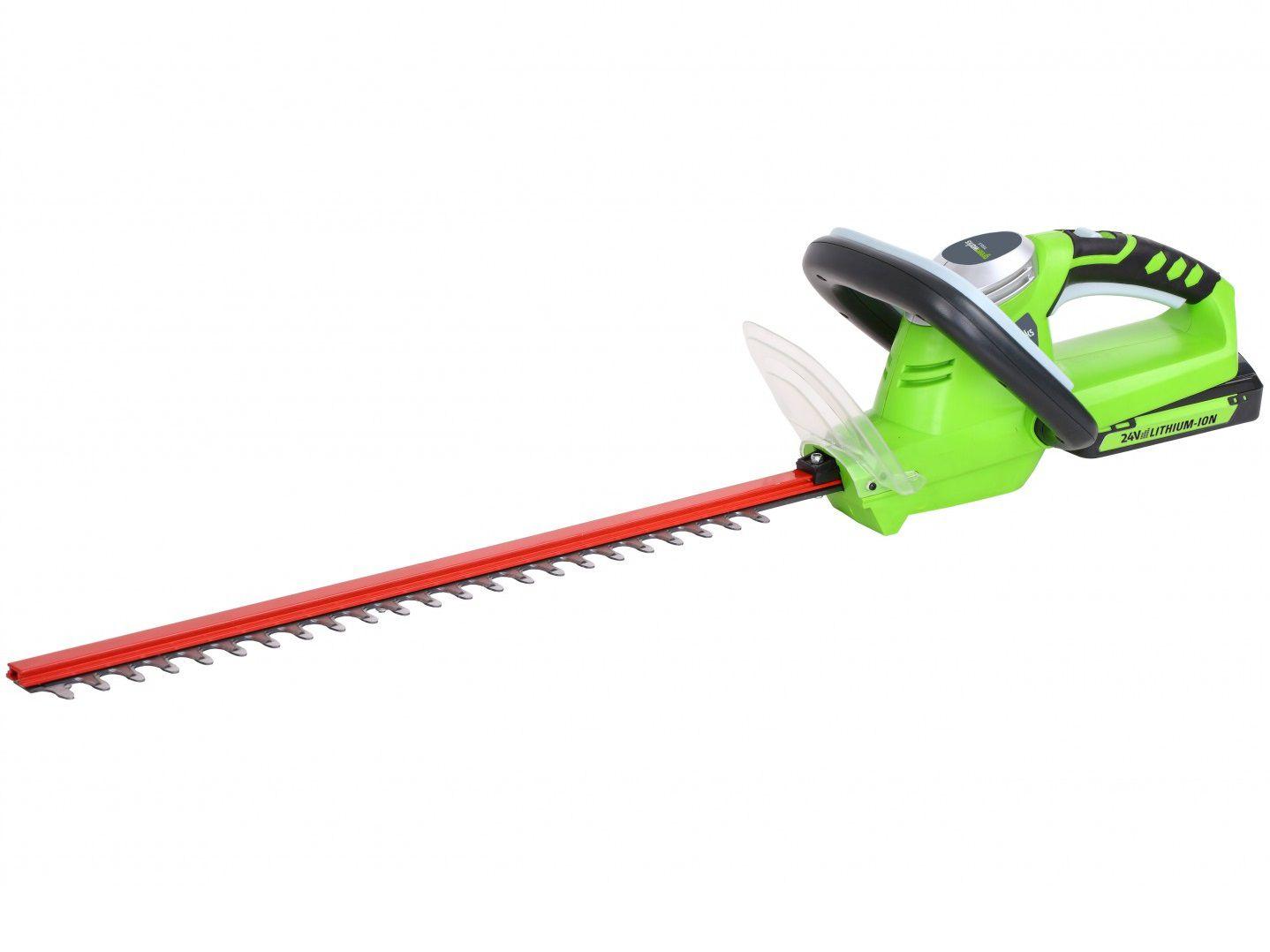 Greenworks G24HT54 Aku nůžky na živý plot - 24V, 54cm, 2.7kg, bez akumulátoru a nabíječky (2201207) Greenworks Tools