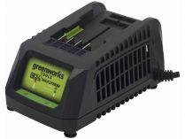 Nabíječka Greenworks G24C pro baterie 24V zn. Greenworks