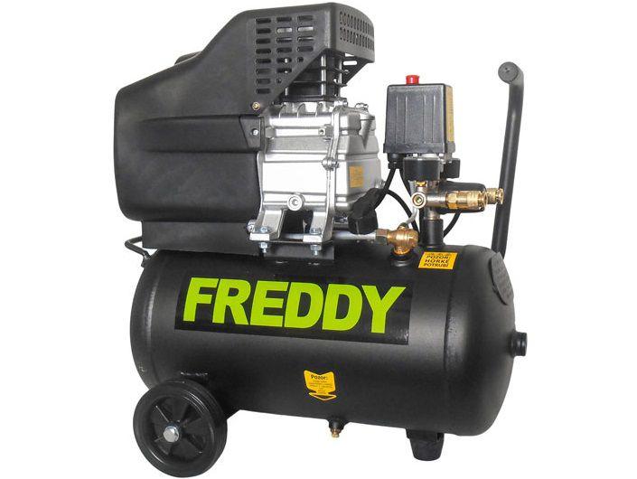 Olejový kompresor FREDDY FR001 - 1.5 kW, 8 bar, 180 l/min, 24 l