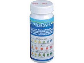 Testovací proužky HANSCRAFT 4v1 - pH,volný Cl (Chlor), alkalita, brom - k testování bazénové vody, 0.05kg (311086)