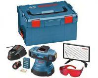 Zobrazit detail - Podlahový čárový laser Bosch GSL 2 Professional Set, čárový podlahový laser