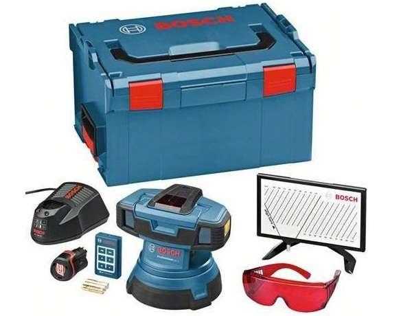 Bosch GSL 2 Professional Set aku čárový podlahový laser