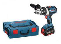 Bosch GSR 18 VE-2-LI Professional - 2x 18V/4.0Ah, 80Nm, 2 rychl., 2.4kg, kufr, aku vrtačka bez příklepu