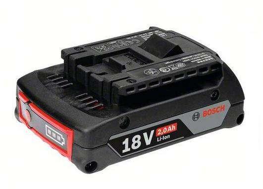 Zásuvný akumulátor Bosch GBA CoolPack 18V/2.0Ah Li-ion Professional Bosch příslušenství