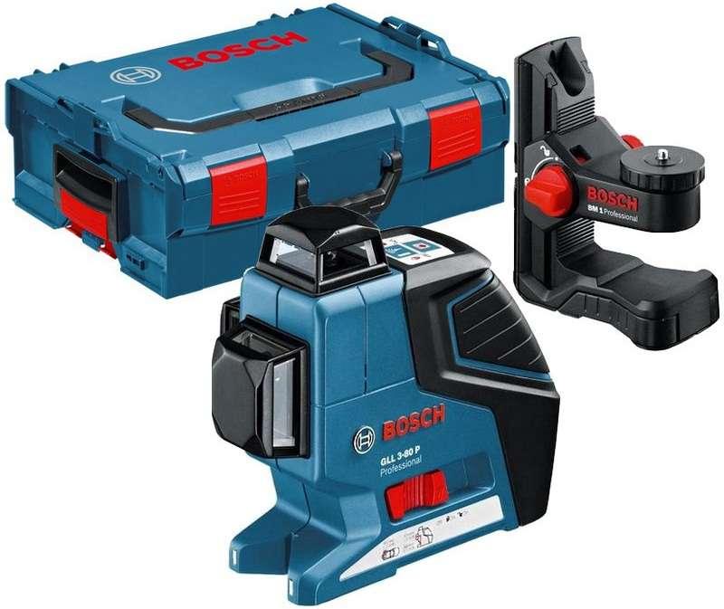 Laser křížový BOSCH GLL 3-80 + držák BM1
