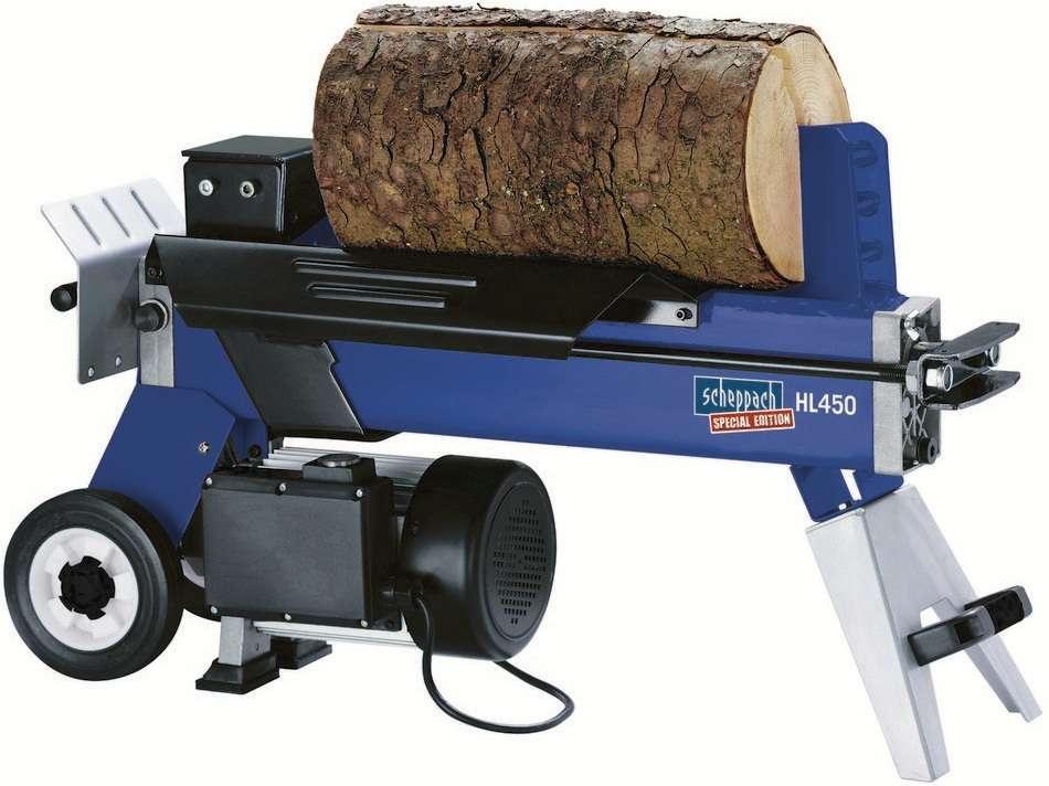 Scheppach HL 450 VARIO Štípač dřeva