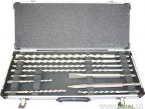 10-ti dílná sada vrtáků a sekáčů do kladiv SDS-Plus Makita D-19174