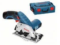 Zobrazit detail - Bosch GKS 10,8 V-LI Professional - 2x 10.8/2.0Ah Li-ion, 85mm, 1.4kg, L-Boxx, aku kotoučová pila